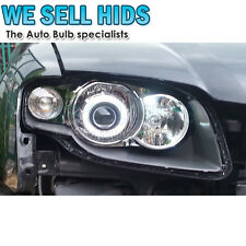 "2.5"" Car Headlight Bi-Xenon HID Double CCFL Angel Eye Projector Lamp Lens Kit"
