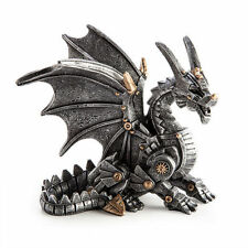 New Steampunk themed Sitting Dragon Figurine Statue Ornament Paperweight DRAGON