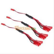 3 Pairs 200mm JST Connector Plug Cable Line Male+Female for Syma Lipo Battery