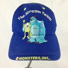 Disney Pixar The Scream Team Monster Inc Sulley Mike Kids Hat Cap