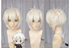 D.Gray-man Allen Walker Anime Costume Cosplay Wig +Track Number+Wig CAP