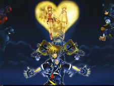 Kingdom Hearts -  Huge Poster  20 x 30 ( Fast Shipping )  in Tube 10