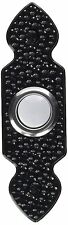 Heath Zenith 829LB-B Wired Door Chime Push Button, Black, Lighted Center