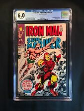 Iron Man & Sub-Mariner #1 CGC 6.0 (1968) - New CGC Case - Pre-dates Iron Man #1