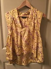 ISABEL MARANT SILK RUNWAY TOP SIZE 38 STEAL!!! 1K NEW!