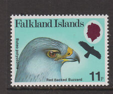 FALKLAND ISLANDS - 1980 BIRDS 11p WATERMARK ERROR MNH  SG.385w (REF.A7)