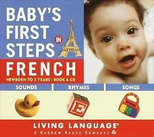 Baby's First Steps in French, Levy, Erika, Good Book