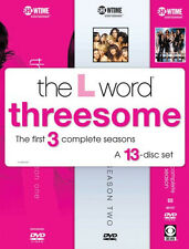 13 DVD:  The L Word - SEAONS  ONE TWO THREE/ 3-Season 13-Disc / GAY LESBIAN