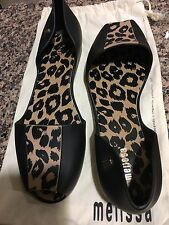 Melissa Jelly Flat Shoes BRAND NEW W/ matching Dustbag US8