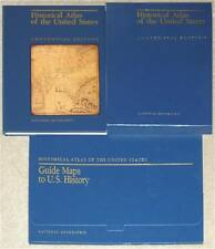 NATIONAL GEOGRAPHIC ~ HISTORICAL ATLAS OF THE UNITED STATES ~ CENTENNIAL EDITION