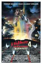 Nightmare On Elm Street 4 Poster 01 A3 Box Canvas Print