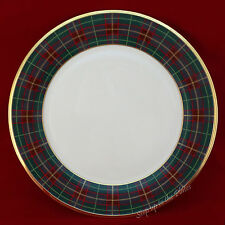 "Lenox China HOLIDAY TARTAN 11 3/4"" 1st Qlty Charger Buffet Service Plate Xmas"