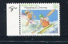 1990 Sports Series II  MUH 5c Kayaking - 1 Kangaroo (Left)