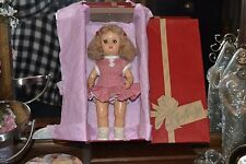"1950s Adorable 10"" Tiny Terri Lee Doll in Her Tagged Outfit in Original Box"