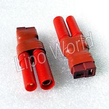 4mm HXT Stecker auf Deans T Buchse Hochvoltstecker Adapter Lade Kabel LiPo Akku