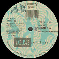 PAULA BRION - Excuses - Tommy Boy Music