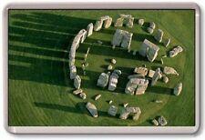 FRIDGE MAGNET - STONEHENGE - Large Jumbo - UK England London (Aerial)