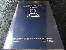 No 36 Bulletin - Scientific Instument Society March 1993.