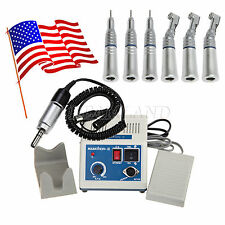 Dental Lab Marathon Electric Micro Motor & 3-KIT Contra Angle Straight Handpiece
