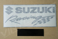 Suzuki Racing Decals Stickers for Fairing Tail x2 Premium Quality 200mm Long