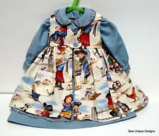 """Handmade Doll Clothes for 20""""-22"""" Baby Doll~2 piece dress with jumper"""