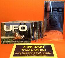 Gerry Anderson Ufo inarrestabile-Base di base Set di 54 Trading Cards + pacco vuoto