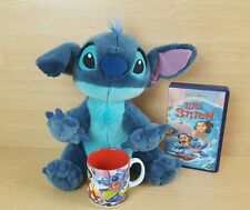LILO AND STITCH Disney exclusive mug video & plush  collectable bundle