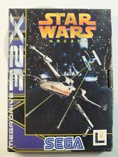 SEGA MEGA DRIVE 32X GIOCO Star Wars Arcade conf. orig., usato ma BENE