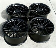 "17X9.5"" Satin Black C6 ZR1 Style wheels FITS: 1988-1996 C4 & 1993-2002 Camaro"
