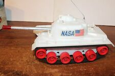 NICE MARX BATTERY OPERATED TRICKY ACTION SPACE TANK in ORIGINAL BOX