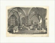 Die Porzellanfabrik zu Meißen: Saal der Maler und Vergolder Holzstich E 6700