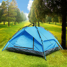 2 Usage Double layer Automatic Camping Tent Family Outdoor Instant Beach Shelter