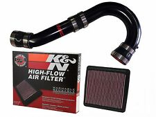 Fits 2017 Subaru Forester SSD / K&N COLD AIR INTAKE (CAI) BLACK, all 2.5 Models
