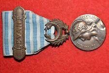 D1 Médaille militaire coloniale du LEVANT AVEC SA BARRETTE FRENCH MEDAL ARMÉE