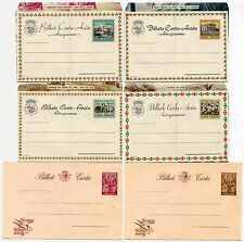 PORTUGAL CABO VERDE POSTAL STATIONERY AEROGRAMMES 6 DIFFERENT...FINE