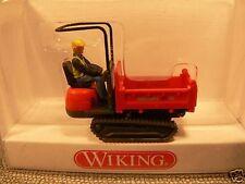 1/87 Wiking Pista Descargador Neuson rojo 669 01