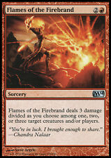 MTG 2x FLAMES OF THE FIREBRAND - FIAMME DEL TIZZONE ARDENTE - M14 - MAGIC