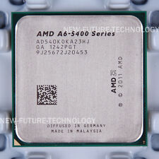 AMD A6-Series A6-5400K (AD540KOKA23HJ) CPU 3.6 GHz Socket FM2 100% Work