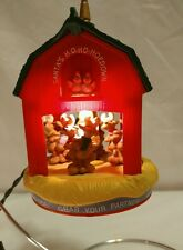 Hallmark Ornament Santas Ho Ho HoeDown Light And Motion. In Box. Great!