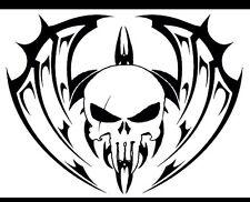 """3pc 3"""" Punisher XII Vinyl Gun Stencils-Cerakote-Duracoat- Hard Hat, Helmet Decal"""