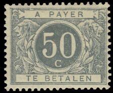 """BELGIUM J9 (Mi P9i) - Numeral """"Postage Due"""" 1900 print (pf65010)"""