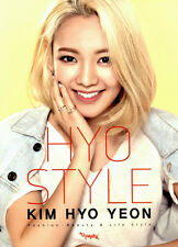Girls' Generation SNSD Kim Hyo Yeon Hyo Style Book + CD Fashion Korean Kpop