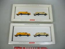 AI50-1# 2x Wiking H0 649 Set Camiones con Rodillo 1961: Mercedes MB, NUEVO+OVP