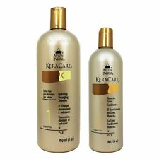 Keracare Sulfate Free Hydrating Shampoo 32 oz & Humecto Creme Conditioner 16 oz