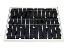 Solarmodul 30 Watt mono Solarpanel Photovoltaik Solarzelle TÜV Zertifikat