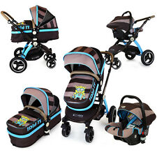 i-Safe System - i DiD iT Travel System Pram & Luxury Stroller 3in1 With Car Seat