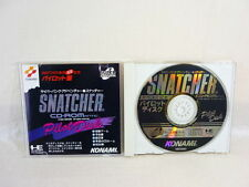 SNATCHER CD ROMANTIC PILOT DISK PC-Engine SCD Konami Import JAPAN Game Grafx pe