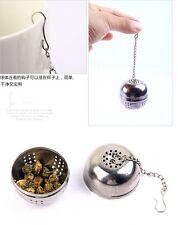 Reusable Stainless Steel Seasoning Ball Tea Bag Infuser Filter Strainer Ball AB