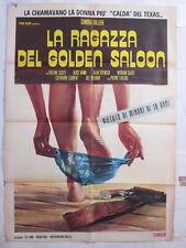 poster 2f-LA RAGAZZA DEL GOLDEN SALOON-JULLIEN-EROTICO-S84875