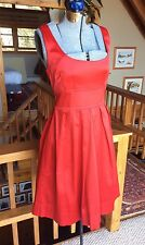 TEEZE ME Sleeveless Satin Red Dress Tie Back Bow Detail Gorgeous Red Dress 9